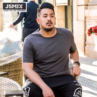 Harga JSMIX Big Plus Size - Large (M~7XL) Cotton T-Shirt - intl