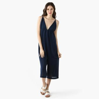Coco Cabana Cami Jumpsuit (Navy Blue) Price Philippines