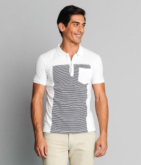 BENCH Fashionable Polo Shirt White Price Philippines