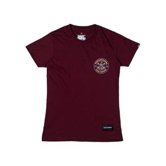 Harga DAILY GRIND Rise Womens T-shirt (Maroon)