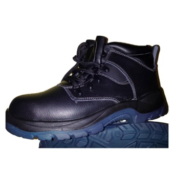 Blue Eagle Safety Shoes High Cut S1P Steel Toe Safety Footwear Oil and Slip Resistant Price Philippines