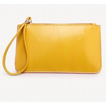 Korea candy leather pouch (Yellow) Price Philippines