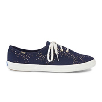 Harga Keds Champion CH Mini Bird Sneakers (Navy/Gold)