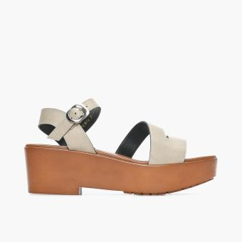 Harga Parisian Basic Penta Wedge Sandals (Off white)