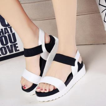 JOY The new women must be simple sandals White - intl Price Philippines