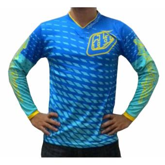 Harga Fortress Cycling Mountain Bike Long Sleeve Jersey (TLDMTB#34)