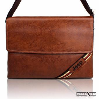Attraxion Marc Messenger Crossbody Bag (Brown) Price Philippines