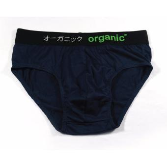 Harga Organic Brief (Navy Blue)