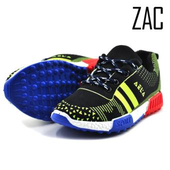 ZAC | Aela Unisex Fashion Sneakers Kids Shoes (Green/Black) Price Philippines