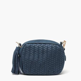 Harga Parisian Ladies Nina Sling Bag (Navy Blue)