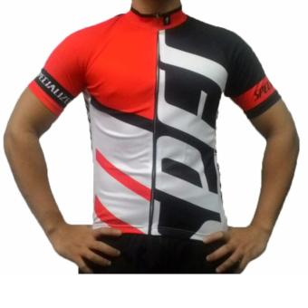 Harga Fortress Bicycle Drifit cycling top Full zipper Jersey (SPECTOP2)