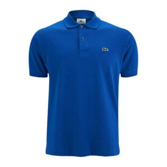 Harga Lacoste Classic Mens' Polo Shirt for Men (Blue)
