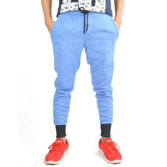 Fashionista Jogger Sweats - Men's Comfy & Breathable Pants (Blue) Price Philippines