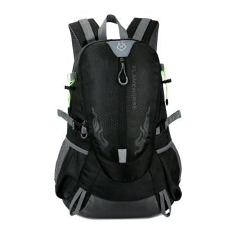 Harga Fahion Waterproof Outdoor port houder Bag Trave backpack (Back)