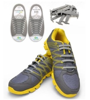 Harga Koollaces No Tie Silicone Laces Grey