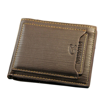 Sanwood Mens Faux Leather Wallet Card Holder Purse Coffee Price Philippines