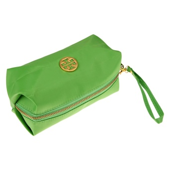 Ms. Cute Candy Colored Purse Cosmetic Bag Waterproof Makeup Hand (Green) - intl Price Philippines