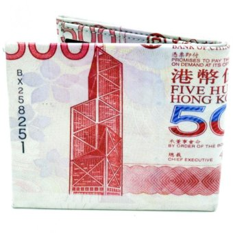 Hong Kong Dollars Designed Leather Foldable Wallet Price Philippines
