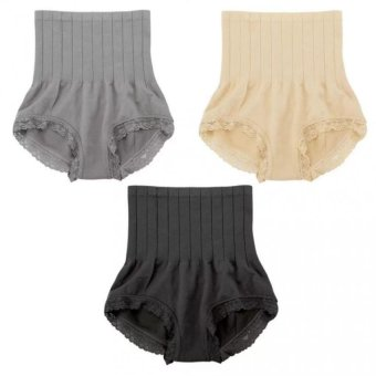 Munafie Slimming Panty Set of 3 (Black, Nude, Gray) Price Philippines