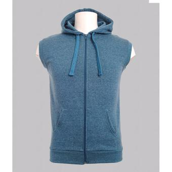 BENCH- BHV0040AQ4 Fleece Vest with Hood (Dark Aqua) Price Philippines