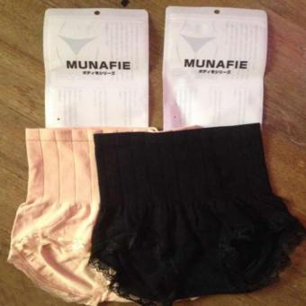 Munafie Slimming Panty Black/Nude Set of 2 Price Philippines