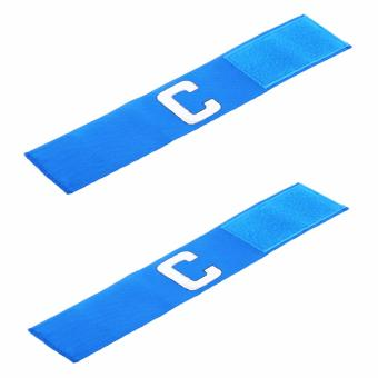Harga TCS PCA-1PS Captain Arm Band Adjustable Velcro Adult Set of 2 (Blue)