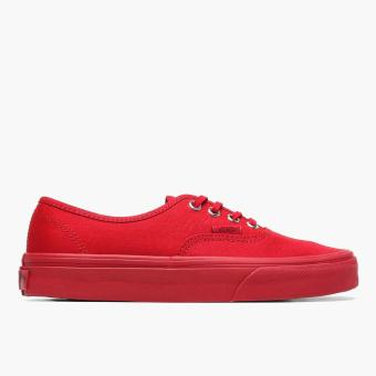 Vans Ladies Authentic Primary Mono Sneakers (Red) Price Philippines