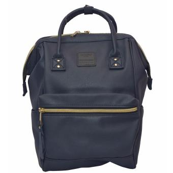 Harga Anello Mini Leather Backpack (Navy)