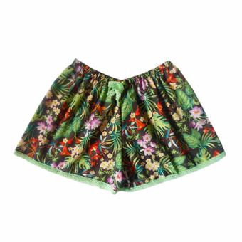 Ayla Intimates Leafy Prints Women's Boxer Shorts (Multicolor) Price Philippines
