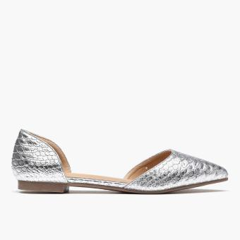 Harga Parisian Ladies Kelly Ballet Flats (Silver)