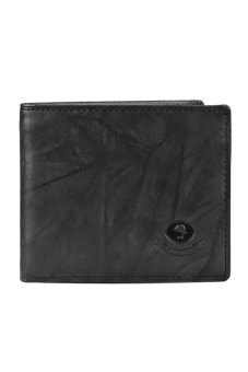 Harga McJIM W-28-2042 Billfold Wallet (Black)