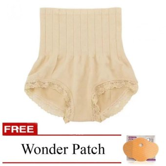 Munafie Slimming Panty (Nude) with Free Wonder Patch Price Philippines