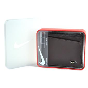 NIKE Leather Passcase Men's Wallet Brown Price Philippines