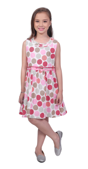 Harga Robby Rabbit Stay Classy Cotton-Woven Dress (Pomelo)
