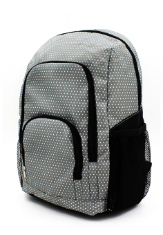 Harga Erwin Casual Daypack Backpack (Grey)