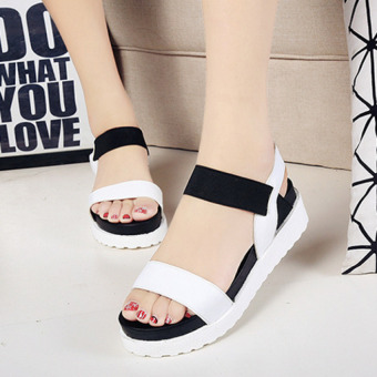 Pudding The new women must be simple sandals White - intl Price Philippines