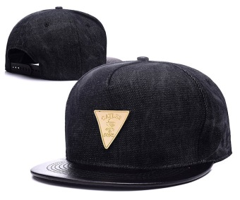 Metal Logo Cayler&Sons Fitted Flat Visor Snapback Hat - Intl Price Philippines
