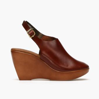 Harga Parisian Basic Ladies Oharu Mules (Dark brown)