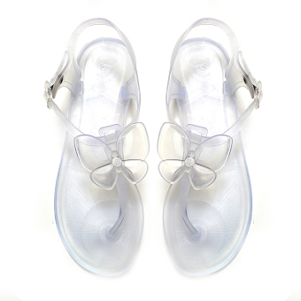 Harga Jelly Nelly Sandals (Clear)
