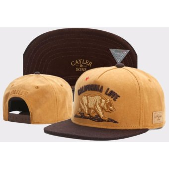 Unisex Cayler Sons WL CALI LOVE Snapback Hat - intl Price Philippines