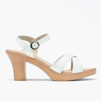 Harga Parisian Plus Ladies Nicki Heeled Sandals (White)