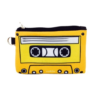 Harga Roy & Biv Cassette Coin Purse (Yellow)