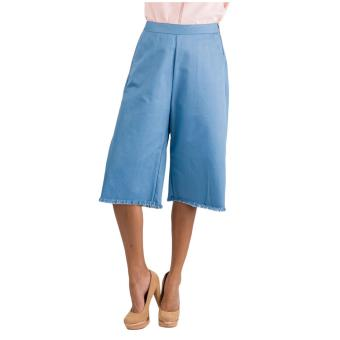 Harga Plains & Prints Macon Culottes (Blue)