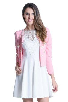 Harga Get Laud! Alice Blazer (Old Rose)