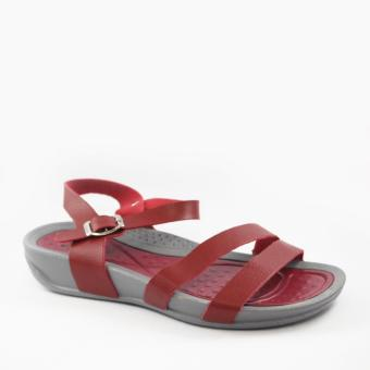 Harga Mendrez Chin Sandals (Dark Red)