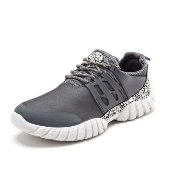 Men's Classic Run/Walk Shoes Mesh Breathable Cushioning Footwear Sneakers Vintage LifeStyle Sports Outdoor, Comfortable Soft Sneaker(grey) - intl Price Philippines