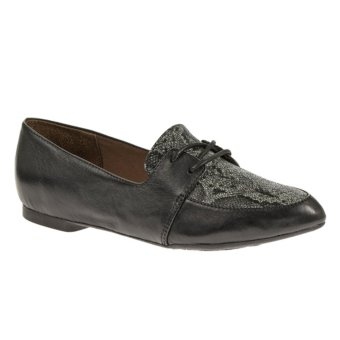 Harga Hush Puppies Opal Trave (Black Snake Leather)