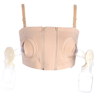 YingWei Maternity Bra Cotton Maternity Bra for Nursing Push Up Hands Free Breast pump Bra Maternity Breastfeeding Bra Underwear Nude Price Philippines