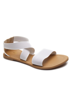 Harga HDY Laura Flats Sandals (White)