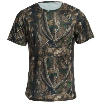 JUNGLEMAN C164 Camo Short Sleeve Explorer T-shirt - SIZE L Price Philippines